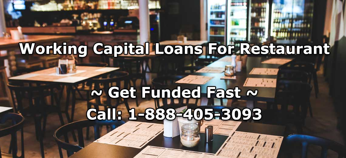 Working Capital Loans for Restaurant